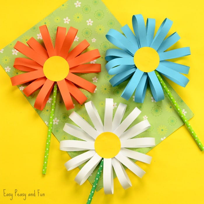 Paper-Flower-Craft - Crazy Little Projects