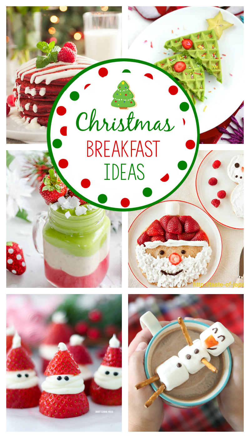 Christmas Breakfast Ideas: Try these fun ideas for a perfect Christmas brunch or breakfast with the kids and family