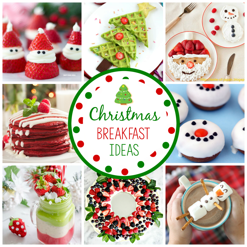 Christmas Breakfast Ideas that are fun and cute for kids!
