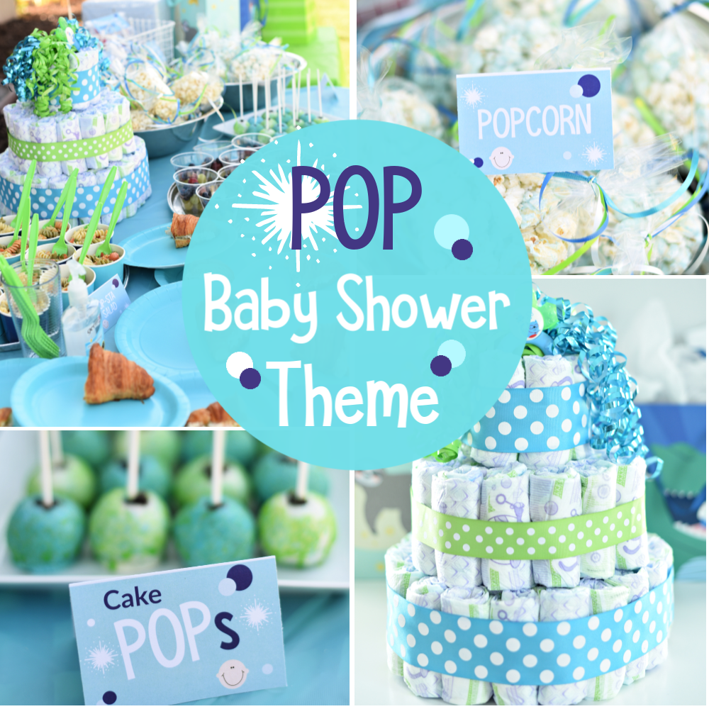 Pop-Themed Baby Shower