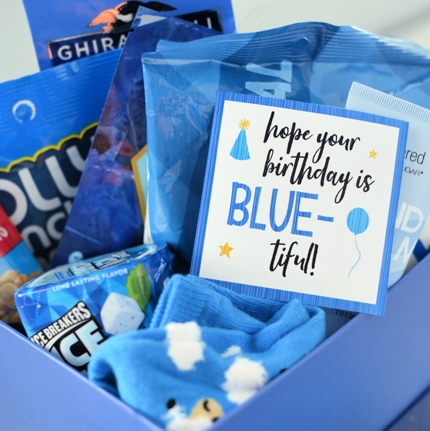 Blue-Themed Gift Idea