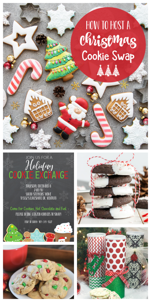 How to Host a Christmas Cookie Exchange-Invitations, recipes, packaging ideas and other tips