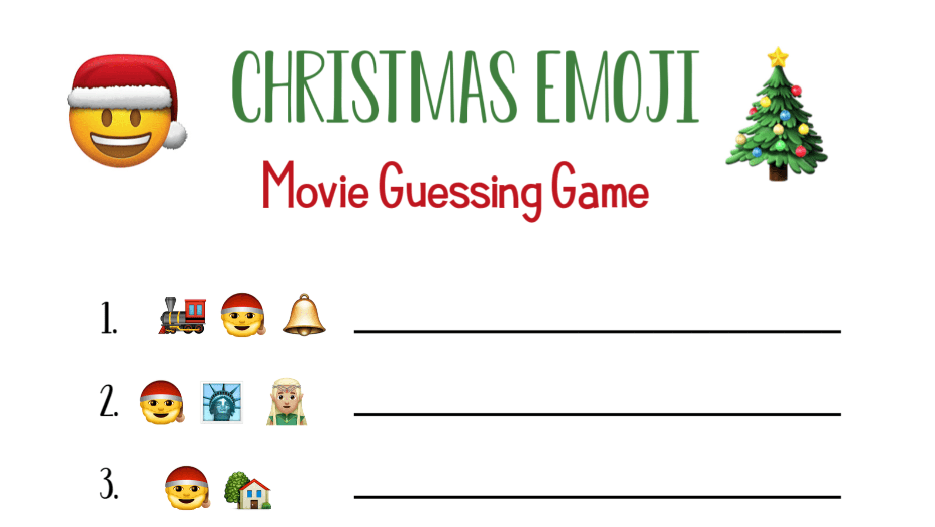 Funny Christmas Games for Groups