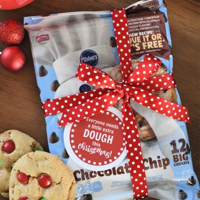 Cookie Dough Neighbor Gift for the Holidays