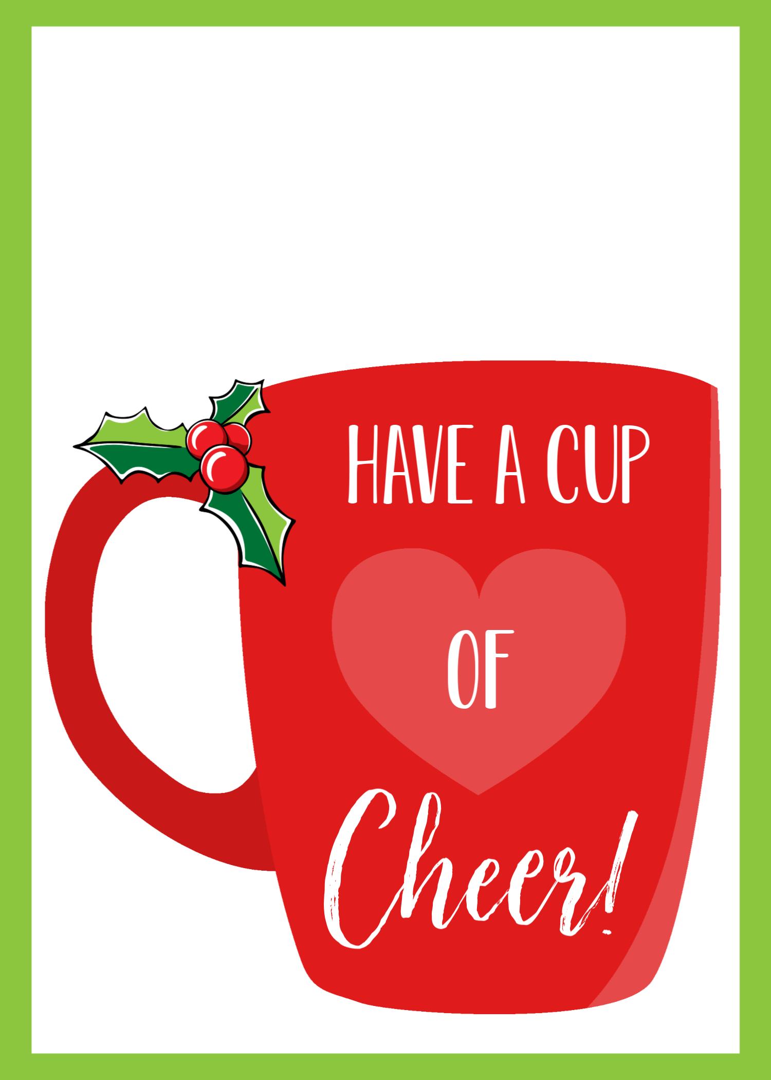 Printable Holiday Gift Card Holder