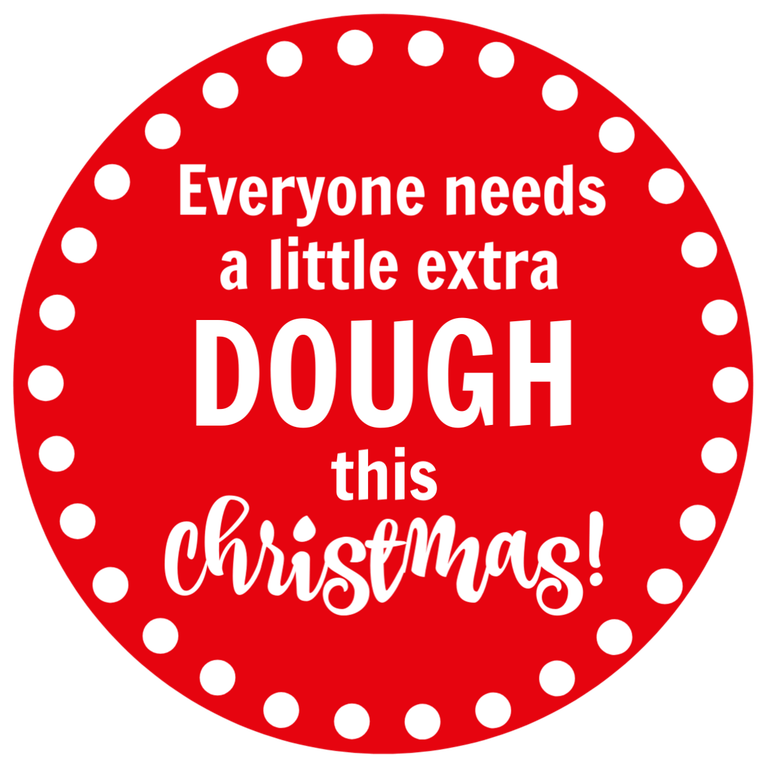 Cookie Dough Gift Tag