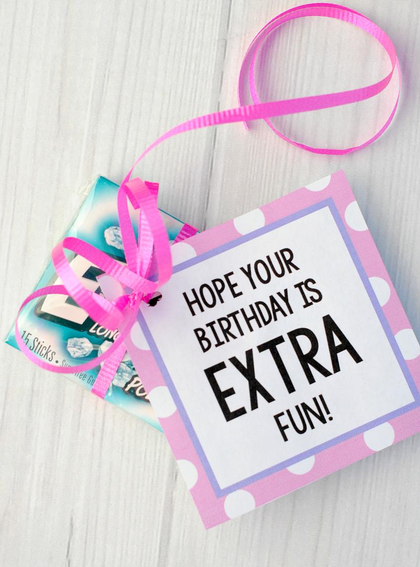 Extra Birthday Gift