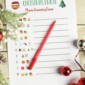 Fun Christmas Game for Group Parties