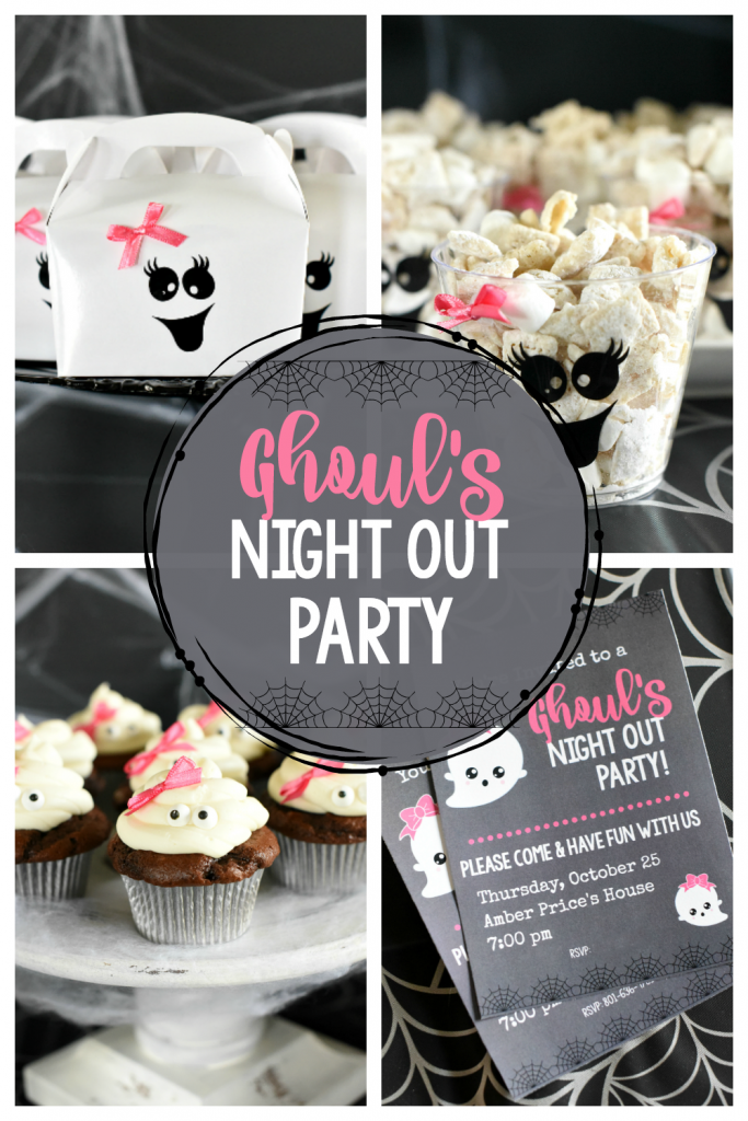 Fun Girl's Night Out Halloween Party Ideas