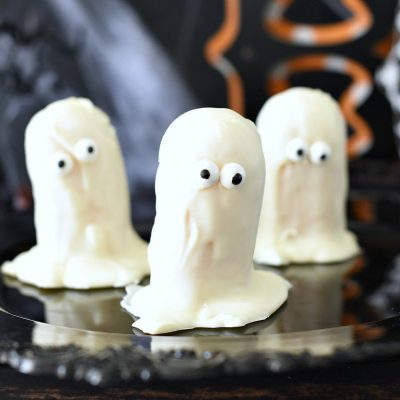 Ghost Twinkies Easy Halloween Treats