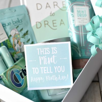 Mint-Themed Birthday Gift Idea