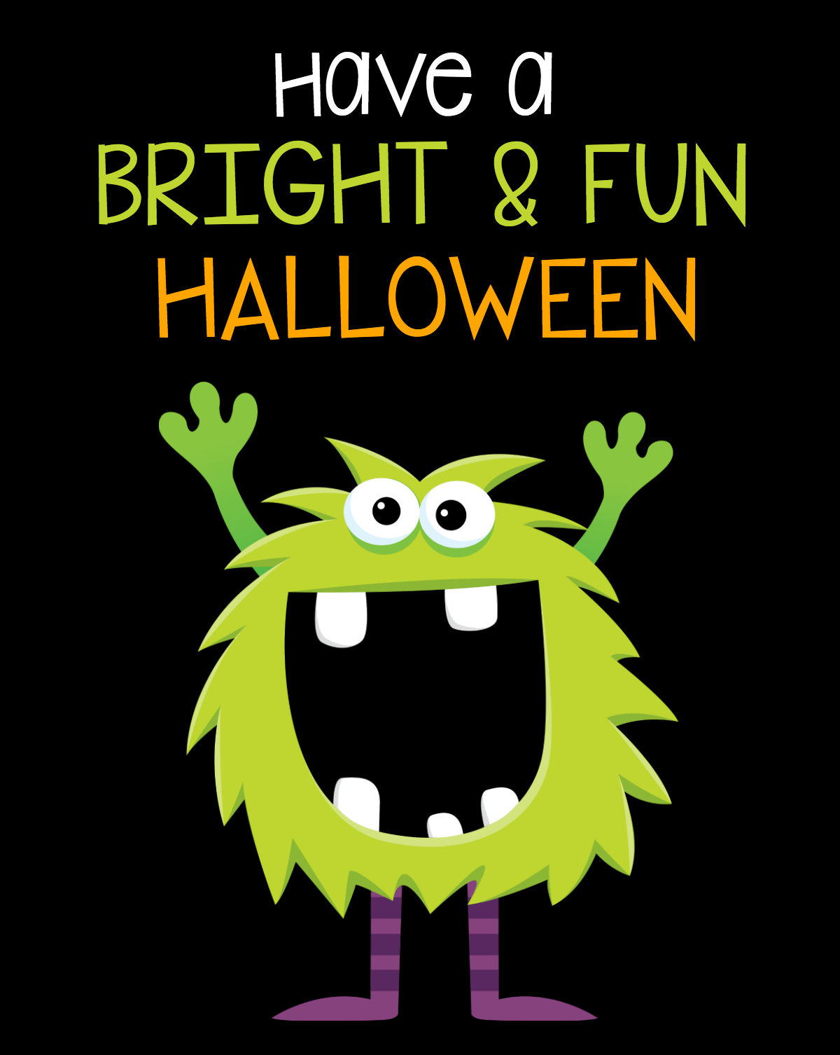 Bright and Fun Halloween Tags