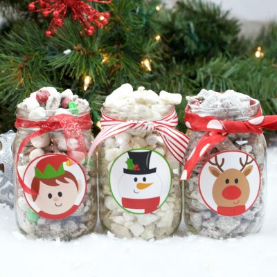Christmas Muddy Buddies and Neighbor Gift Idea