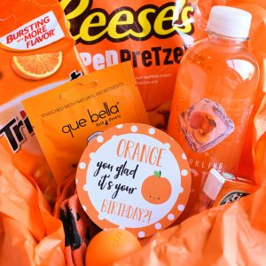 Orange Birthday Gift Idea
