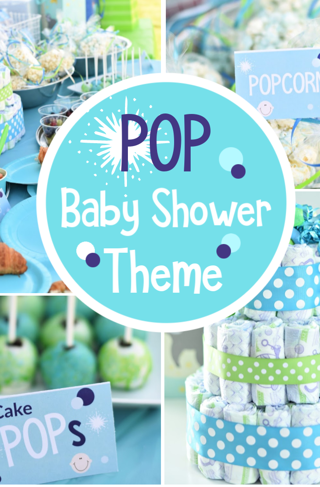 Pop Baby Shower Ideas-Games, food, decor and more.