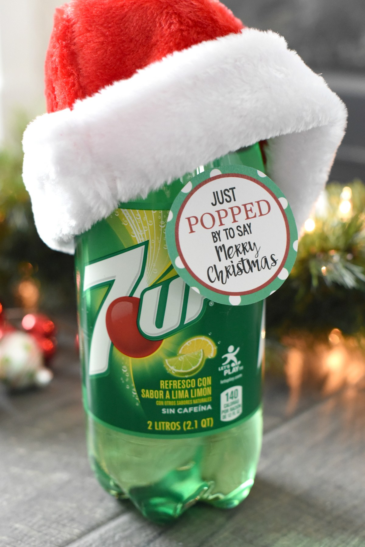 Easy Pop Themed Christmas Neighbor Gift