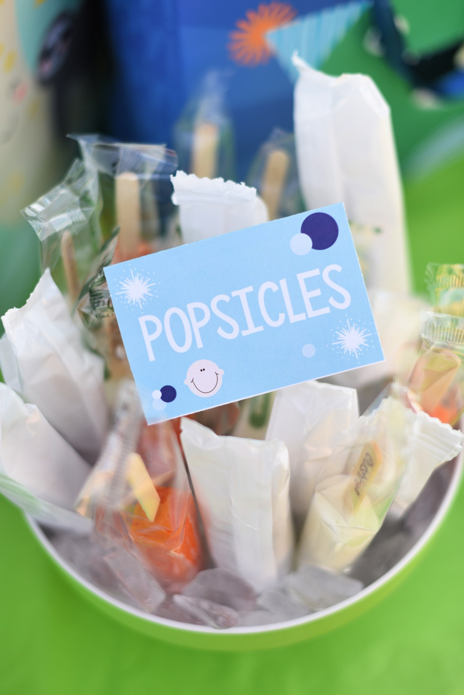 Popsicles for Baby Shower