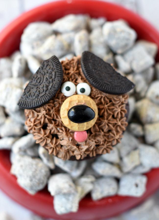 Puppy Cupcake Ideas