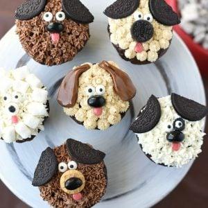 Cute Puppy Cupcakes