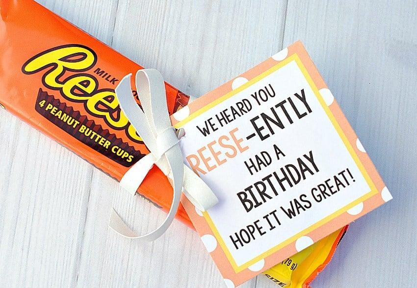 Reese's Birthday Gift Ideas