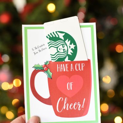 Cup of Cheer Holiday Neighbor Gift Idea
