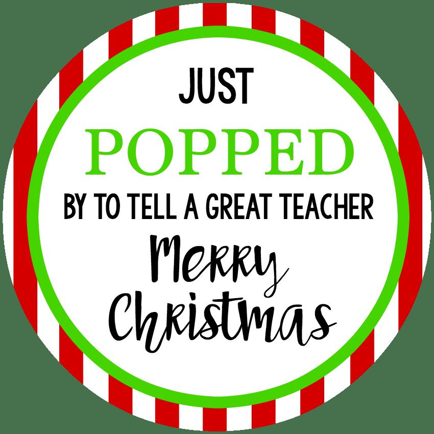 Holiday Neighbor Gift Tags