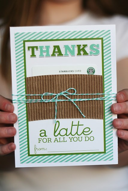Creative Thank you gift ideas