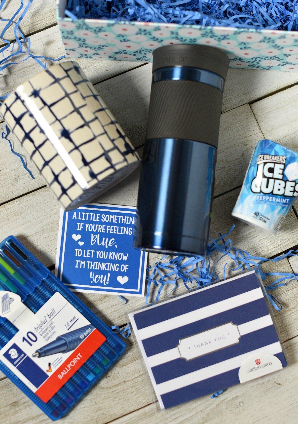 Blue Sympathy Gift