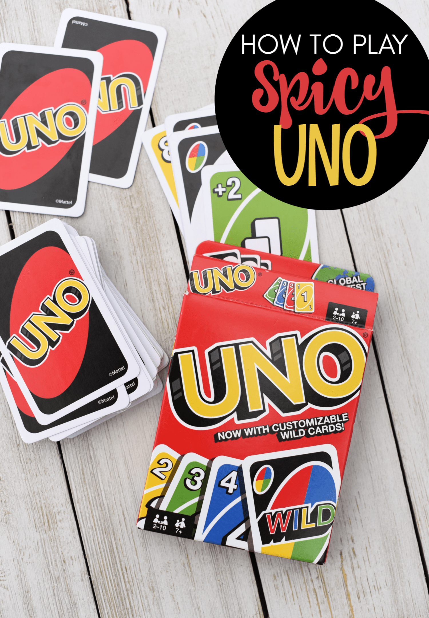 Spicy Uno Rules