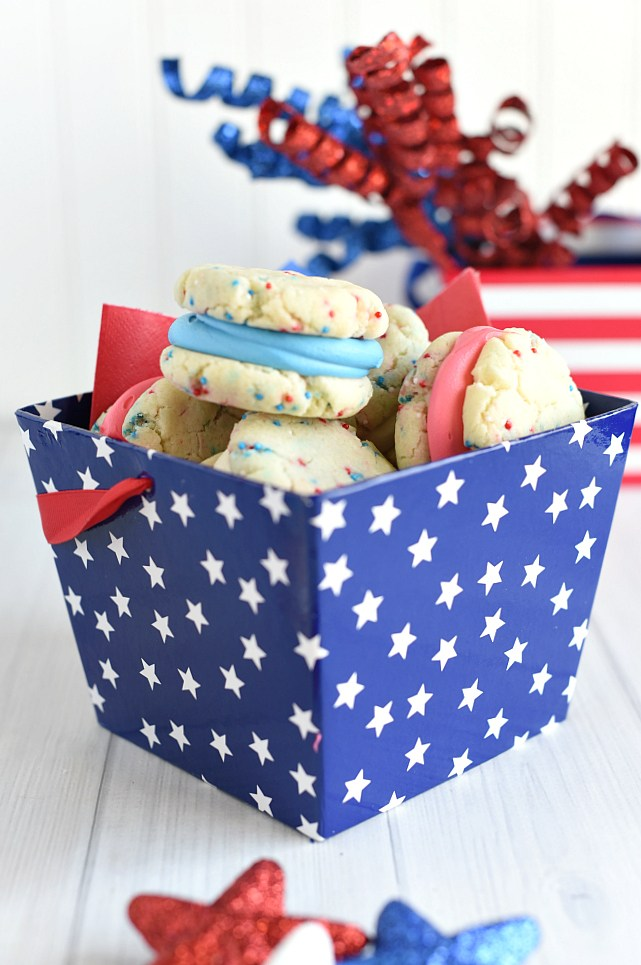 Simple 4th of July Cookies