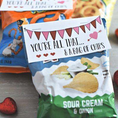 Bag of Chips Valentine