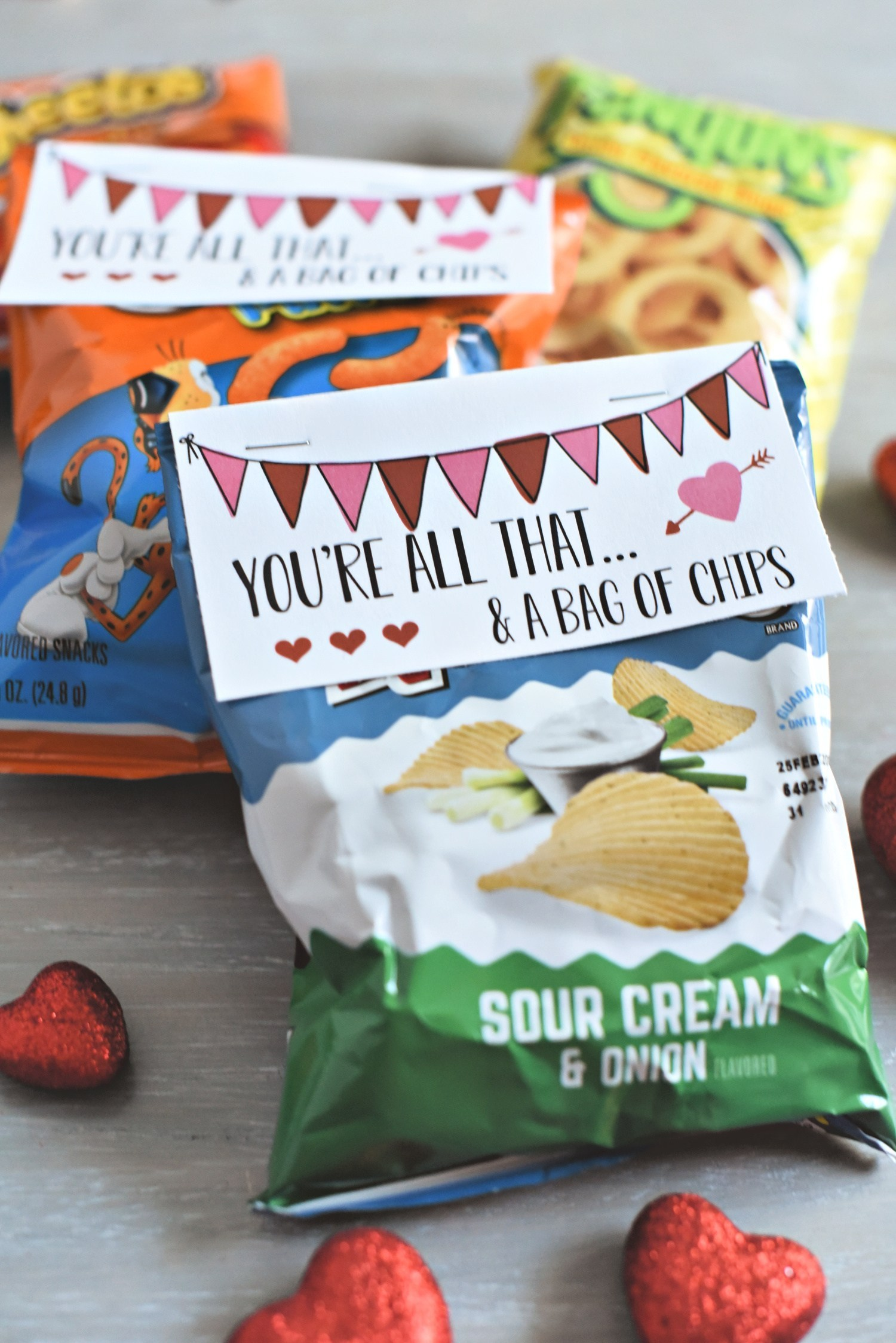 Bag of Chips Valentine