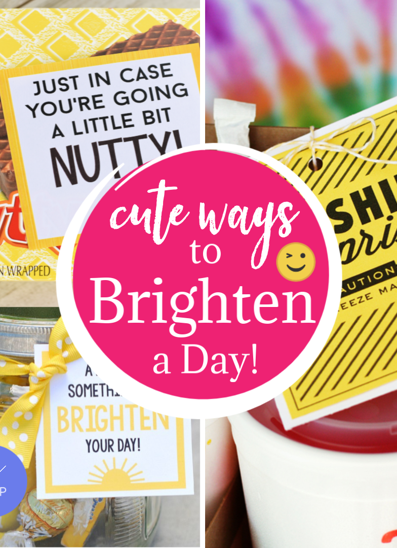 Cute Ways to Brighten a Day for a Friend