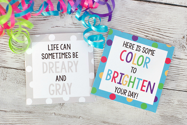Cheer Up Gift Tags