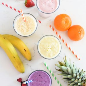 Kid-Approved 3 Ingredient Easy Protein Smoothie Recipes