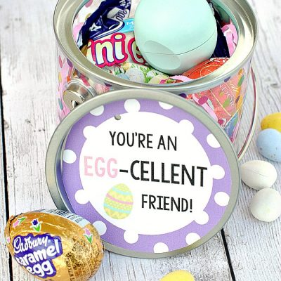 Cute Easter Gifts for Friends: You're an Egg-cellent Friend