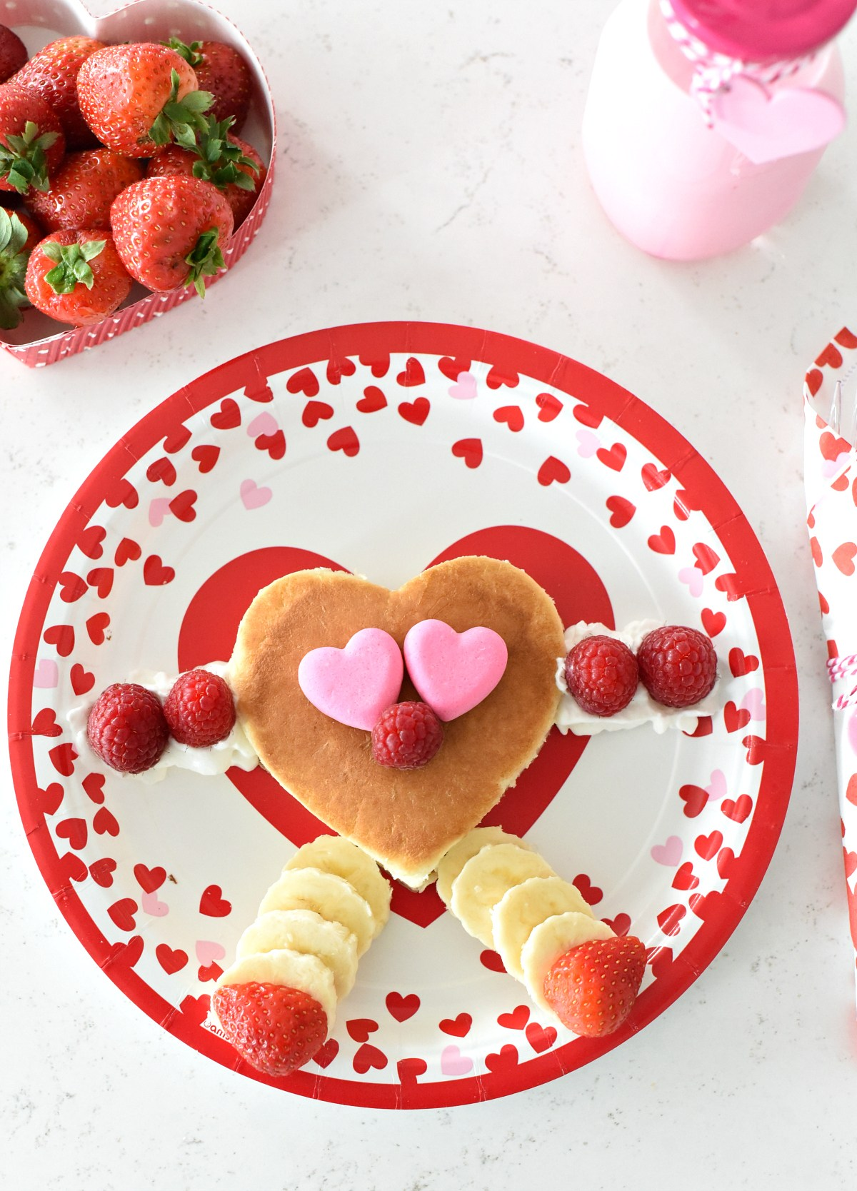 Valentine's Day Breakfast Idea for Kids
