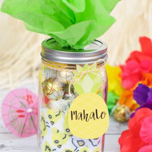 Mahalo Pineapple-Themed Thank You Gift Idea