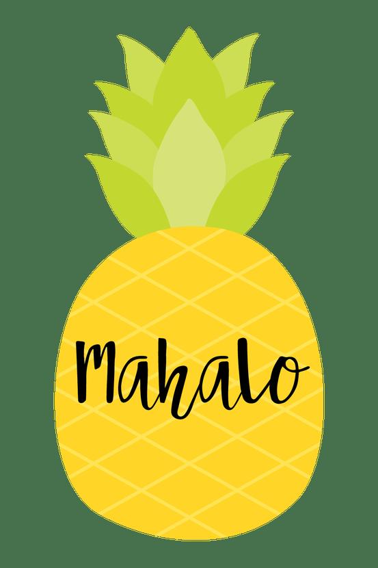 Mahalo Gift Tag
