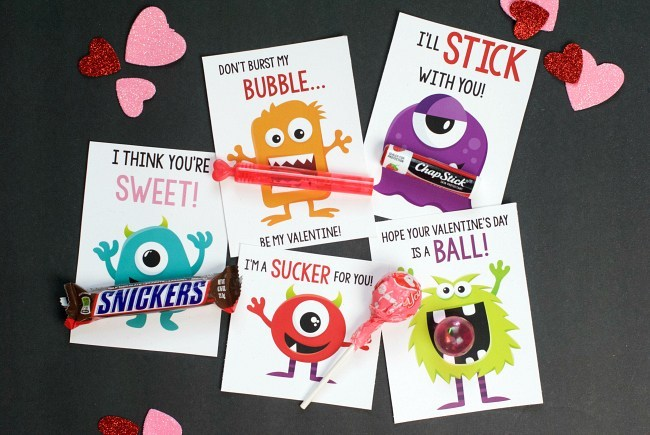 Monster Valentines