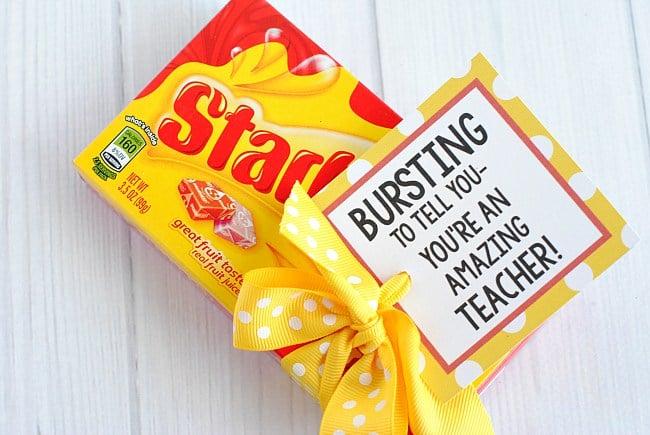 Simple Teacher Gift Ideas