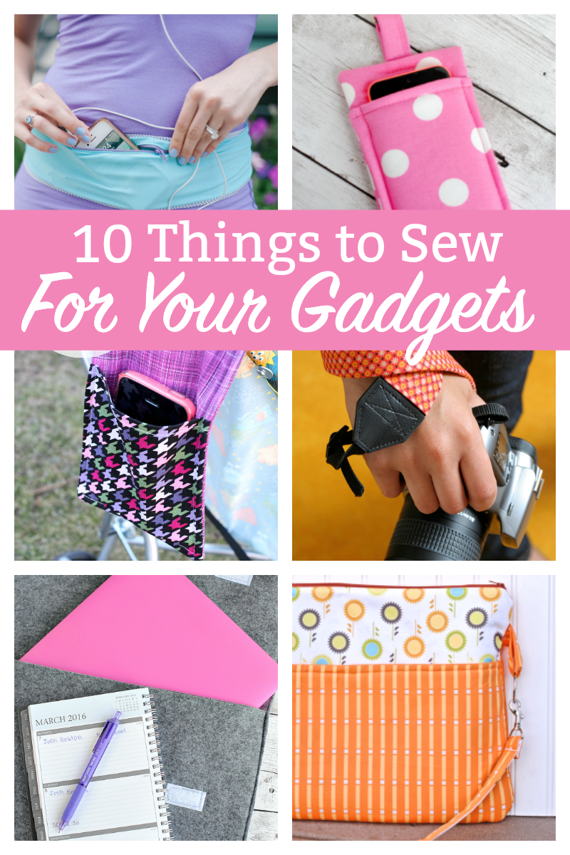 10 Things to Sew for Your Gadgets