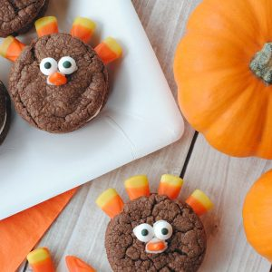 Cute and Easy Turkey Cookies to Make with Kids for Thanksgiving