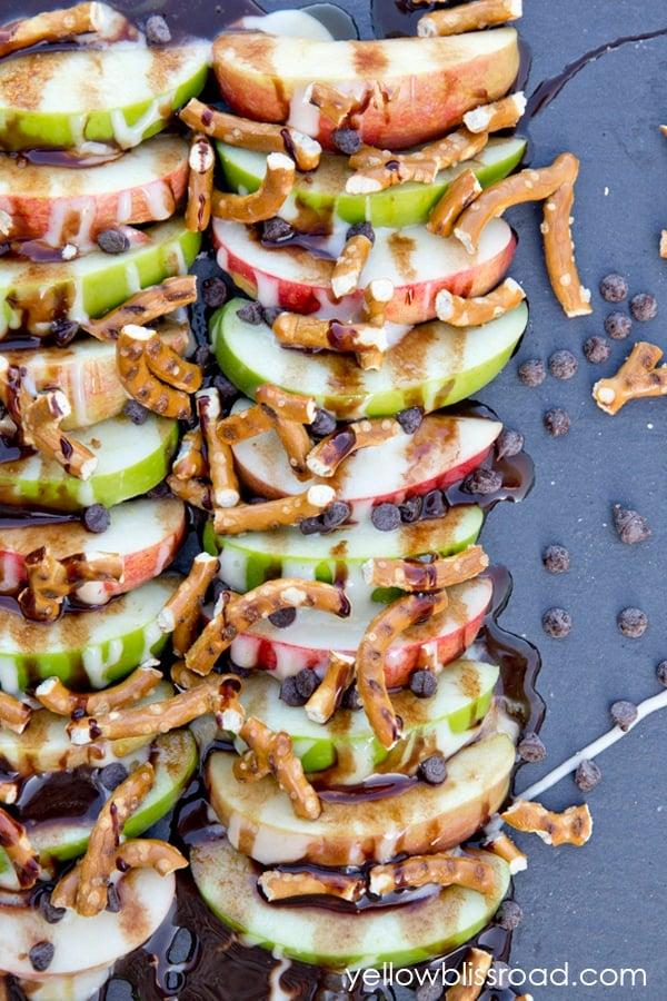 Apple Nachos After School Snacks