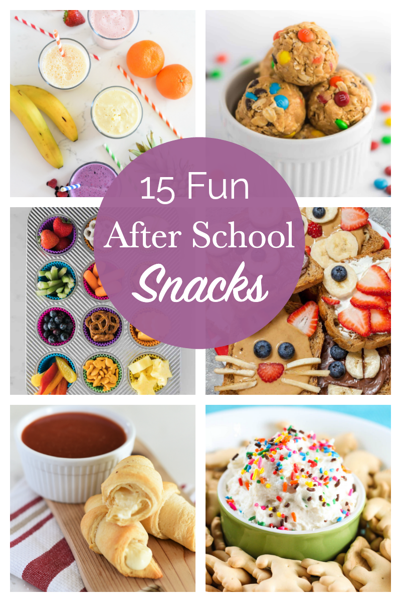 15 After School Snacks: Ideas that are Kid Approved!