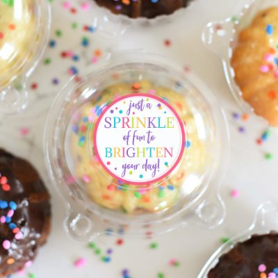 Sprinkle of Fun Just Because Gifts for Friends