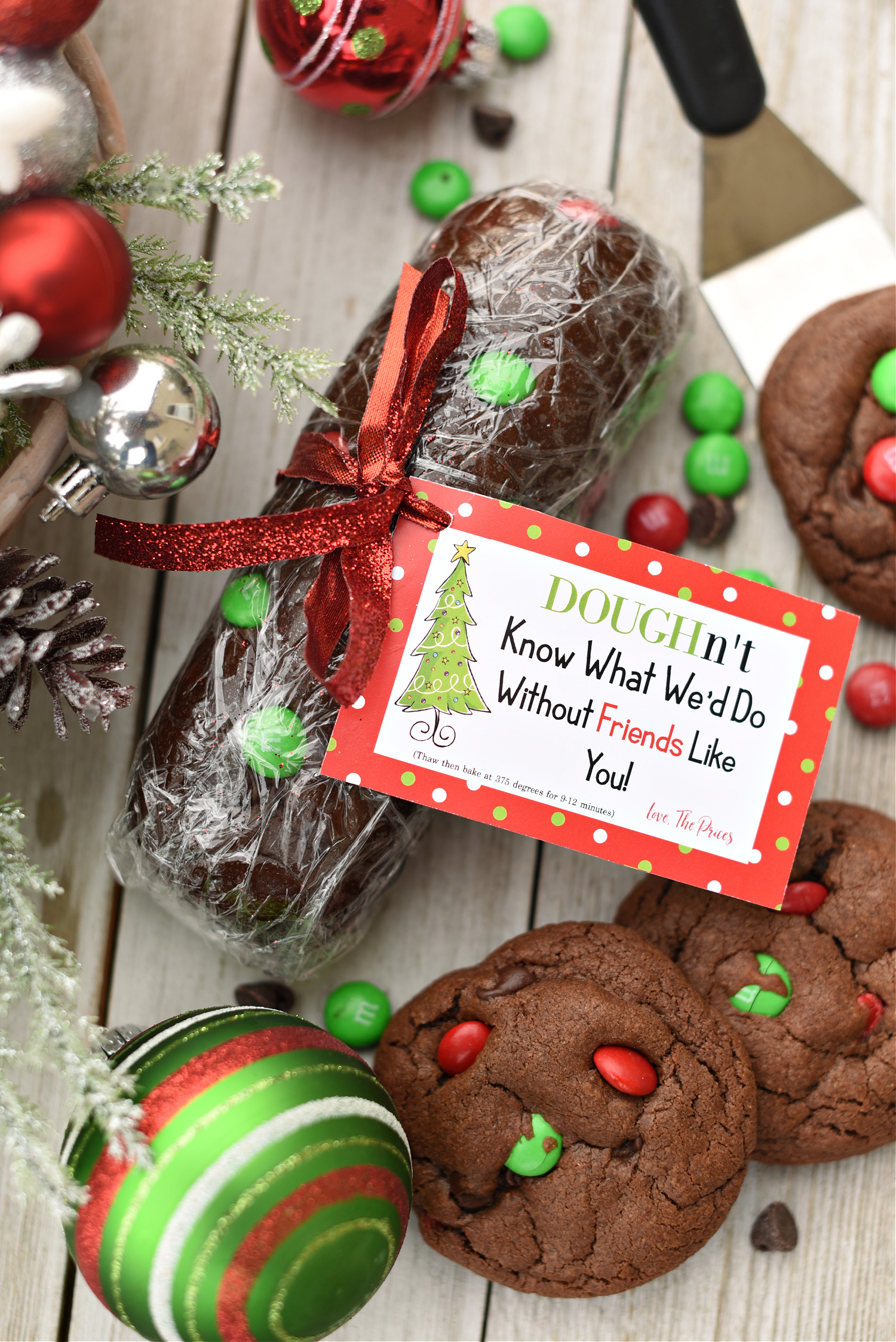 Cookie Dough Holiday Neighbor Gift
