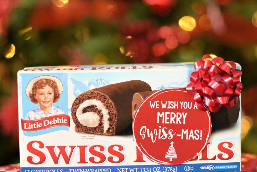 Easy Holiday Neighbor Gift: We Wish You a Merry Swiss-mas