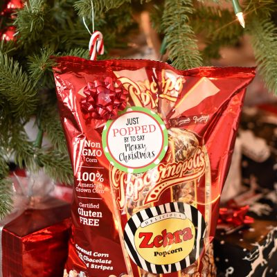 Popcorn Holiday Neighbor Gift Idea