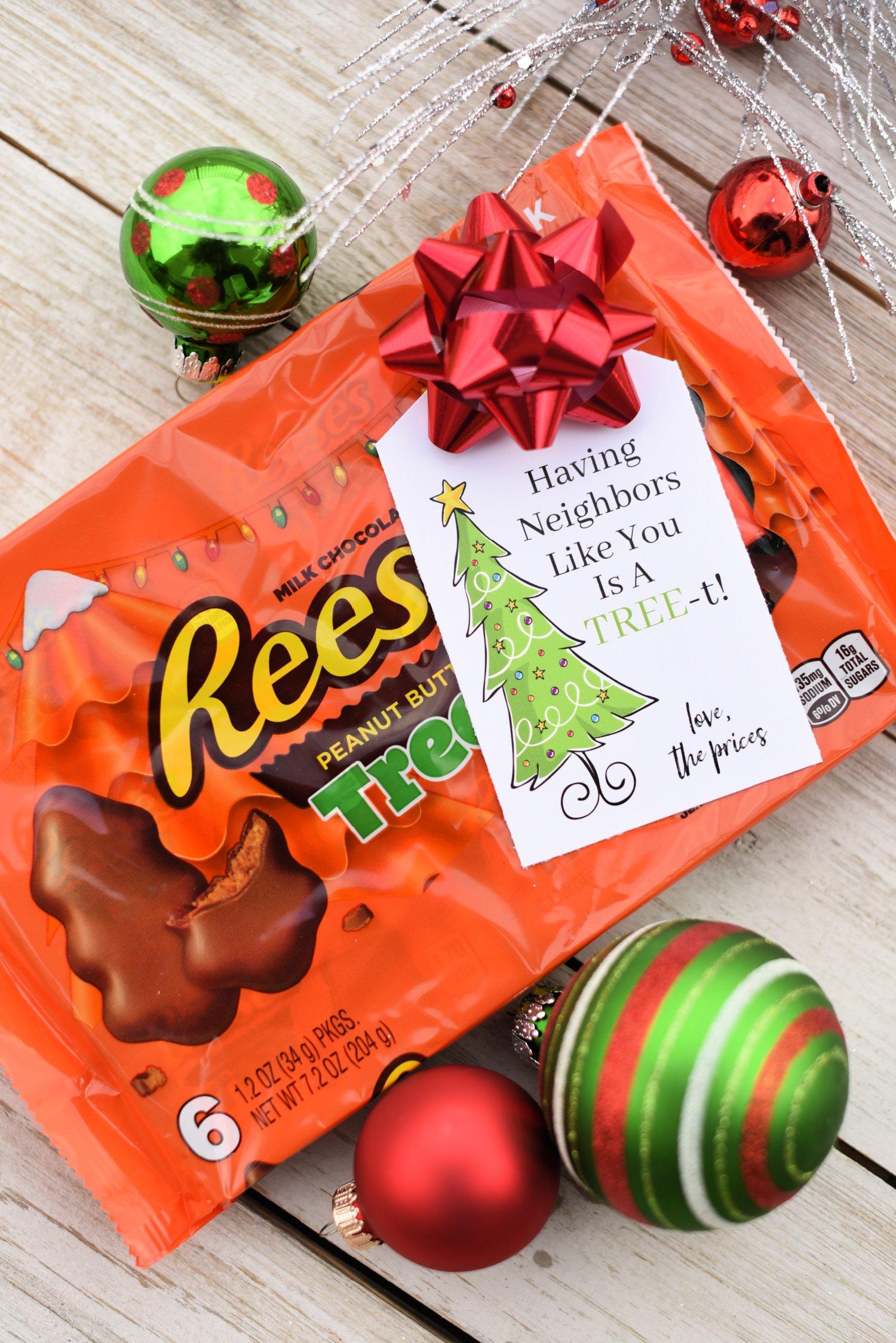 Reese's Neighbor Gift: Having Neighbors Like You is a Treat